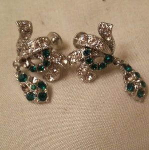 Vintage clip earings